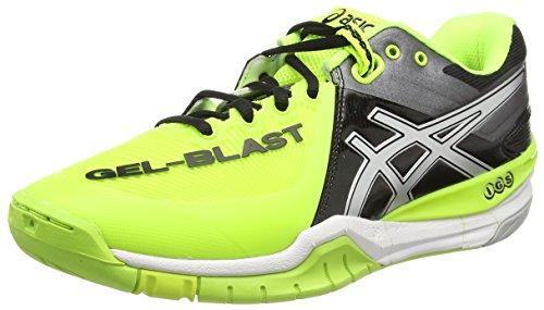 Asics Gel-blast 6, Chaussures de Handball Homme Jaune (Flash Yellow/Silver/Black 0793)