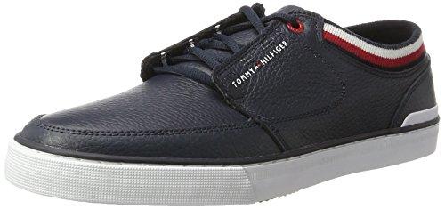 Tommy Hilfiger Herren H2285ARRINGTON 8A Sneaker, Blau (Midnight), 45 EU