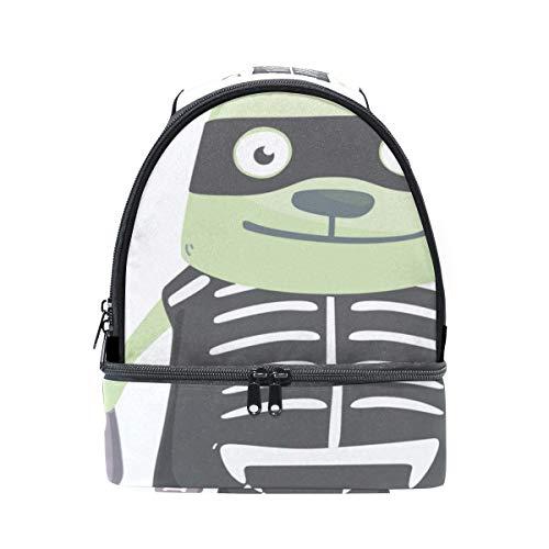 Hund Tragbare Schule Schulter Tote Lunchpaket Handtasche Kinder Doppel Lunchpaket Wiederverwendbare Isolierte Kühler Für Frauen Student Travel Outdoor ()