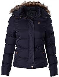d090349848 Ladies Brave Soul Designer Jacket Quilted Puffer Padded Coat
