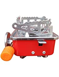 Gessppo estufa cuadrada pequeña portátil compacta de un solo quemador de butano estufa al aire libre