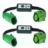 2x semi - dynamische Blinker-Module für LED Rückleuchten Laufblinker - zeitversetzte Ansteuerung - passend zu OEM Endziffer C E oder A