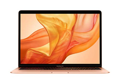Apple MacBook Air - Ordenador portátil de 13' (Intel Core i5 de doble núcleo a 1,6 GHz, 128 GB) oro