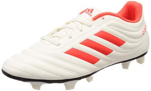 adidas Copa 19.4 FG, Herren Fußballschuhe, Weiß (Off White/Solar Red/Core Black), 43 1/3 EU (9 UK) -