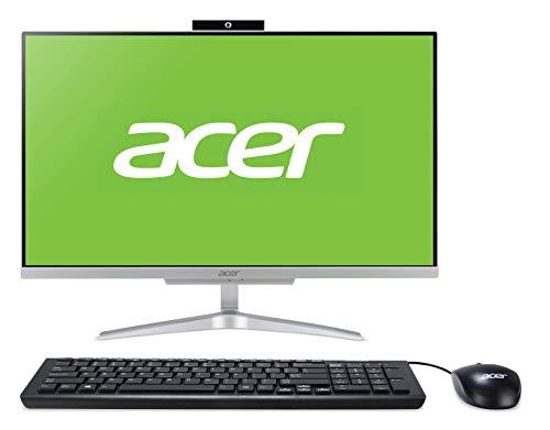 Acer Aspire C24-865 - Ordenador de sobremesa (Intel Core i3-8130, 8 GB RAM, 1000 GB HDD, Windows 10 Home) Gris Oscuro - Teclado QWERTY español