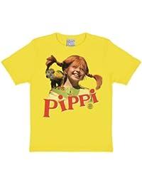 Logoshirt Jungen Hemd Pippi-Nilsson