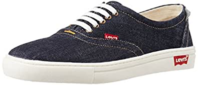 Levi's Men's Denim Laced 1 Navy Cotton Sneakers - 11 UK/India (46 EU)