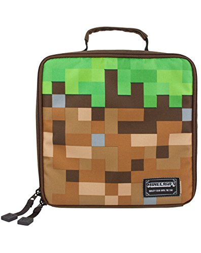 *Minecraft Grass Block Lunch Box Liste de prix