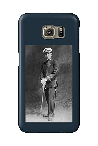 Us Navy Officer Uniform (Early US Navy Officer in Uniform Posing (Galaxy S6 Cell Phone Case, Slim Barely There))