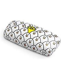 Balvi Estuche para Gafas Chick Color Blanco Estuche rígido Estampado Metal