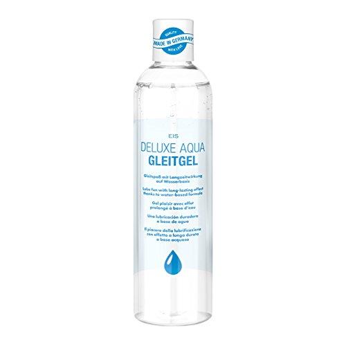 Deluxe Aqua Gleitgel von EIS | wasserbasierte Langzeitwirkung | neutral | 300 ml