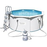 Bestway Hydrium Pool-Set 300x120cm mit Sandfilter + Zubehör