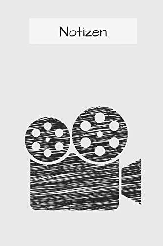 Notizbuch für Regisseure: und Regieassistenten | 120 Seiten mit Punkteraster (dotted) | A5+ Softcover