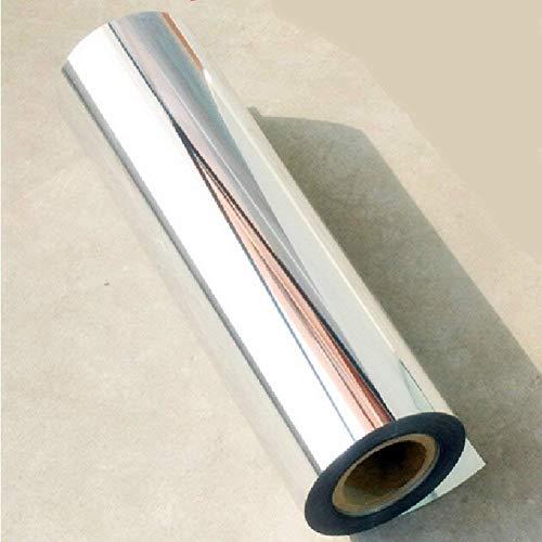 Price comparison product image 24''x60''Chrome Mirror Silver Vinyl Wrap Sticker Decal Film Sheet , Self-adhesive