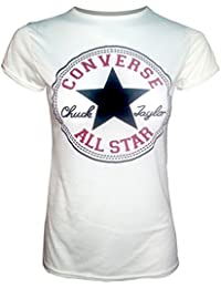 Convers'aLL sTAR nouvelle femmes manches courtes sLIM fIT t-sHIRT tOP taille uK uK 14 nEW à manches courtes pour femme tOP convers'aLL sTAR t-sHIRT coupe sLIM