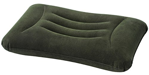 Intex - Almohada hinchable, 58 x 36 x 13 cm, color verde (68670)