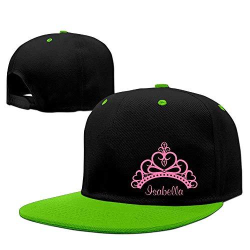 Hlcenng Men&Women Elegant Pink Princess Tiara Baseball Snapback Cap Adjustable