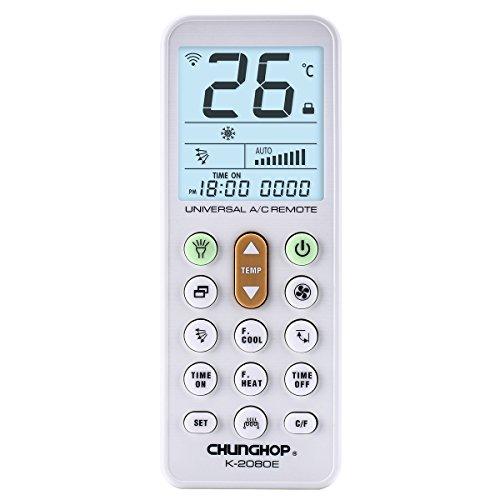 Telecomando universale per condizionatore climatizzatore - schermo con la luce - torcia a led
