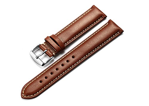 istrap-18mm-genuine-calf-leather-watch-strap-padded-watch-band-silver-pin-buckle-super-soft-dark-bro