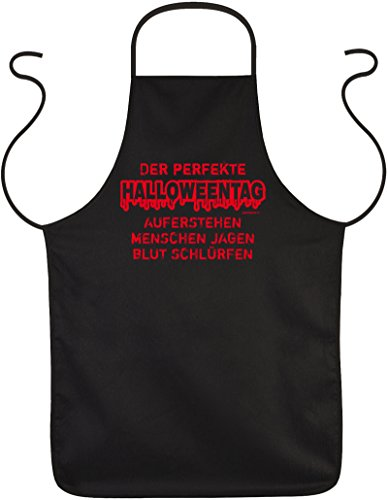 Goodman Design  Gruselige Halloween Party Schürze : Halloween/Der perfekte Halloweentag Halloween Kostüm Kochschürze schwarz