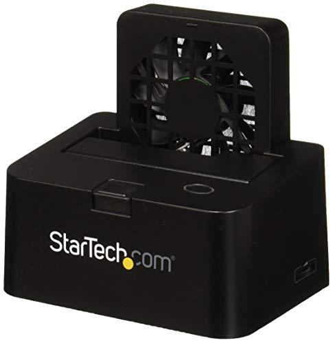 """USB 3.0/ eSATA Dockingstation für SATA Festplatten - 2,5/3,5\"""" HDD / SSD Docking Station mit UASP und Lüfter"""