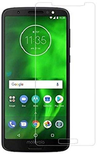 Peezer® Anti Fingerprint High Transparency Air- Bubble Proof Tempered Glass Guard for Motorola Moto G6