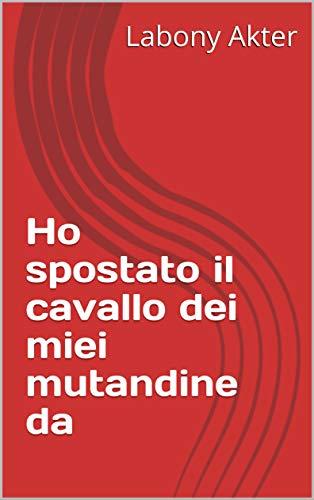 Ho spostato il cavallo dei miei mutandine da  (Italian Edition)