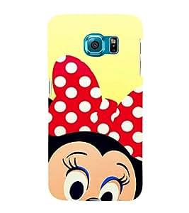 EPICCASE Selfie Minnie Mobile Back Case Cover For Samsung Galaxy S6 Edge (Designer Case)