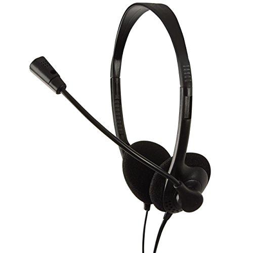 Mit Mikrofon Kopfhörer Pc (LogiLink Stereo Headset Kopfhörer mit Mikrofon Easy)