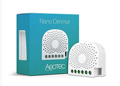Aeotec AEOEZW111 Nano Dimmer, 240 V, Weiß -