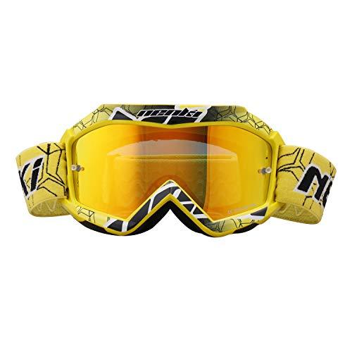 NENKI Gafas Motocross Niño NK-1018 (amarillo)