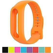 Correa de repuesto para TomTom Touch, de silicona, de Cyeeson (no incluye dispositivo), naranja