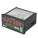 Morza MyPin FH8E-6CRNB Multifunktions Preset 6 Digitale Zähler Intelligente Länge Batch Meter 24V DC Länge Count Meter-Relais-Ausgang