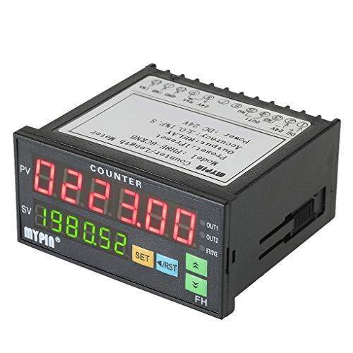 Censhaorme MyPin FH8E-6CRNB Multifunktions Preset 6 Digitale Zähler Intelligente Länge Batch Meter 24V DC Länge Count Meter-Relais-Ausgang -