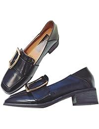 2017 verano zapatos nuevos con un pequeño zapatos con un pequeño zapatos de moda , black , 7.5