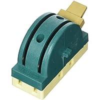 AC 250V 32A 2 Polos Doble Proyección Circuito Control Cuchillo Desconexión Interruptor Verde