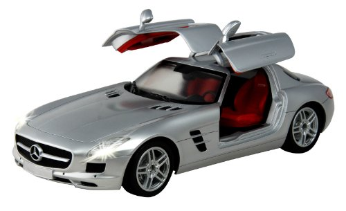 auldey-mercedes-benz-sls-amg-116-scale-car-silver