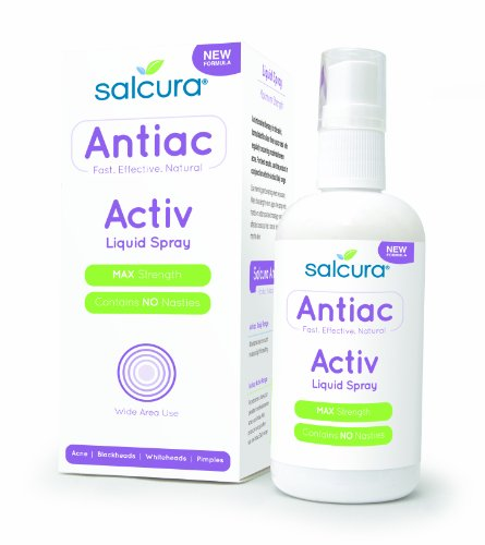THREE PACKS of Salcura Ltd Salcura Antiac-Acne Clear Spray 50Ml