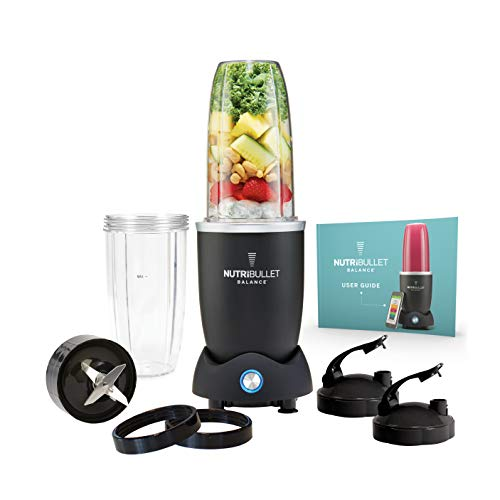 41qMjOULrFL. SS500  - NutriBullet Balance 9 Piece with Smart Nutrition Sensor and Bluetooth Technology