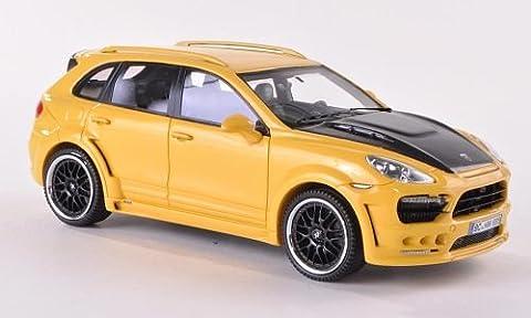 Hamann Guardian, jaune/Carbon , 2011, voiture miniature, Miniature déjà montée, Neo 1:43