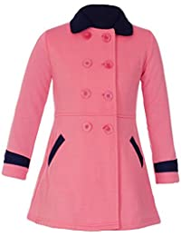 Naughty Ninos Girls Pink Fleece Jacket