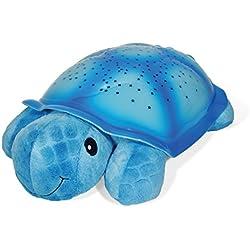 Cloud B Twilight Turtle - Luz nocturna con proyector de estrellas, color azul