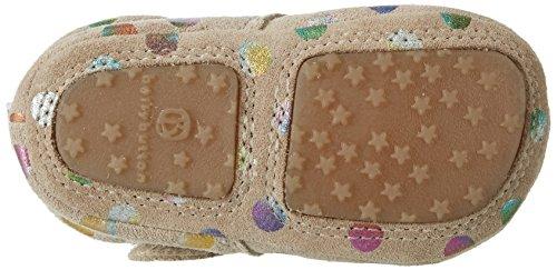 bellybutton Baby Mädchen Babyschuhe Krabbel-& Hausschuhe Mehrfarbig (taupe combi)