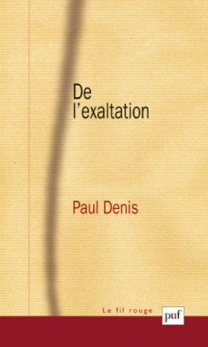 De l'exaltation par Paul Denis
