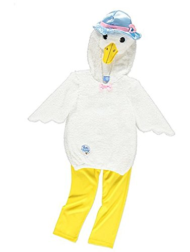 George peter coniglio jemima puddle-duck girls fancy dress costume outfit (2-3 anni)