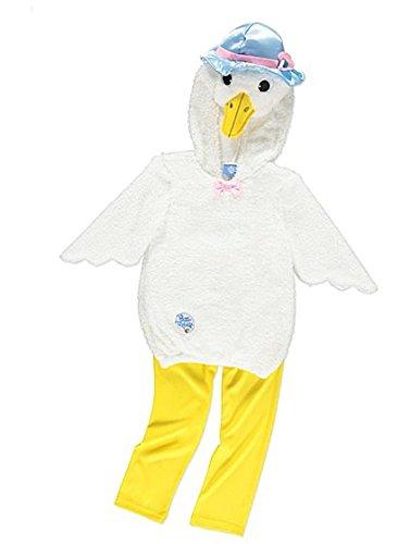 George Peter Kaninchen Jemima Puddle-Ente Mädchen Kostüm Outfit (2-3 ()