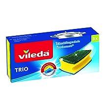 Vileda-Panno Antibatterico-Super Salvauñas Assorbente-Confezione da 2 Pezzi 1 Gratis