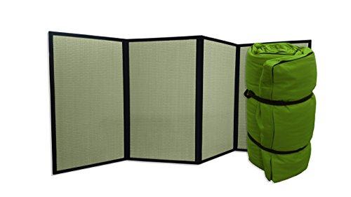 Combinación Tatami Plegable Futon portátil Verde