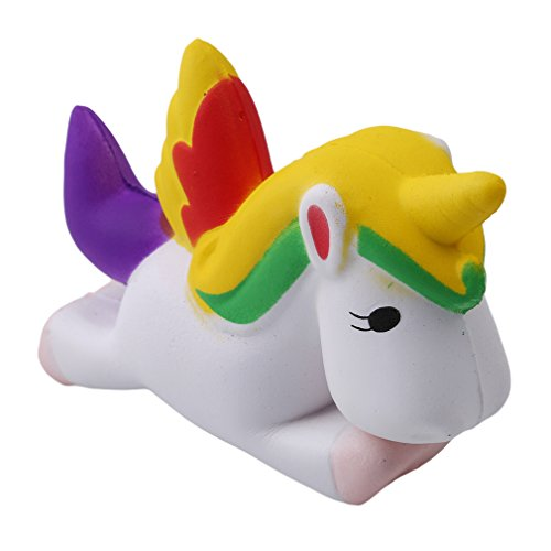 HENGSONG Cute Unicorn Squishies Toy Slow Rising Relieves Stress Soft Toy for Children and Adult Toy gift