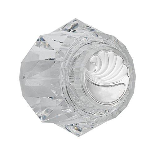 Ersatz für Delta Wasserhahn RP17451Single klar Knob Griff-Kit für Badewanne/Dusche